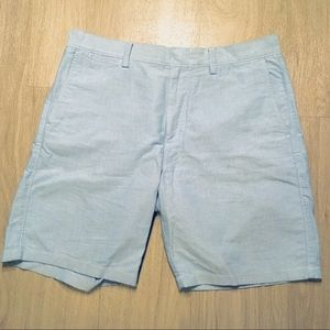 Baby Blue Cotton Shorts